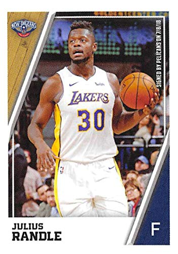 - 2018-19 Panini NBA Stickers Collection #316 Julius Randle New Orleans Pelicans Official Basketball Sticker (2 in x 2.75 in)