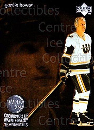(CI) Wayne Gretzky, Gordie Howe Hockey Card 1998-99 McDonalds Upper Deck Wayne Gretzkys Teammates 2 Wayne Gretzky, Gordie ()