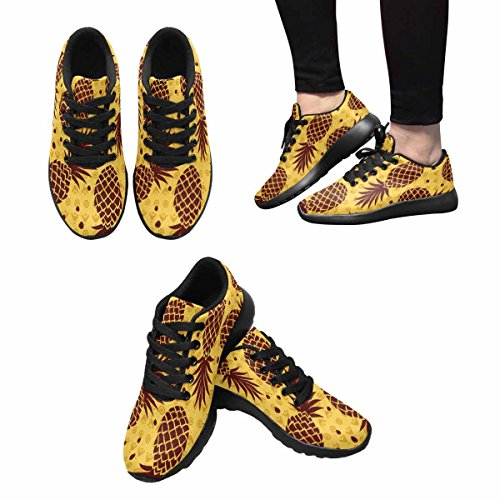 Interestprint Femmes Jogging Running Sneaker Léger Aller Facile Marche Confort Sport Chaussures De Course Fruit Modèle Multi 1