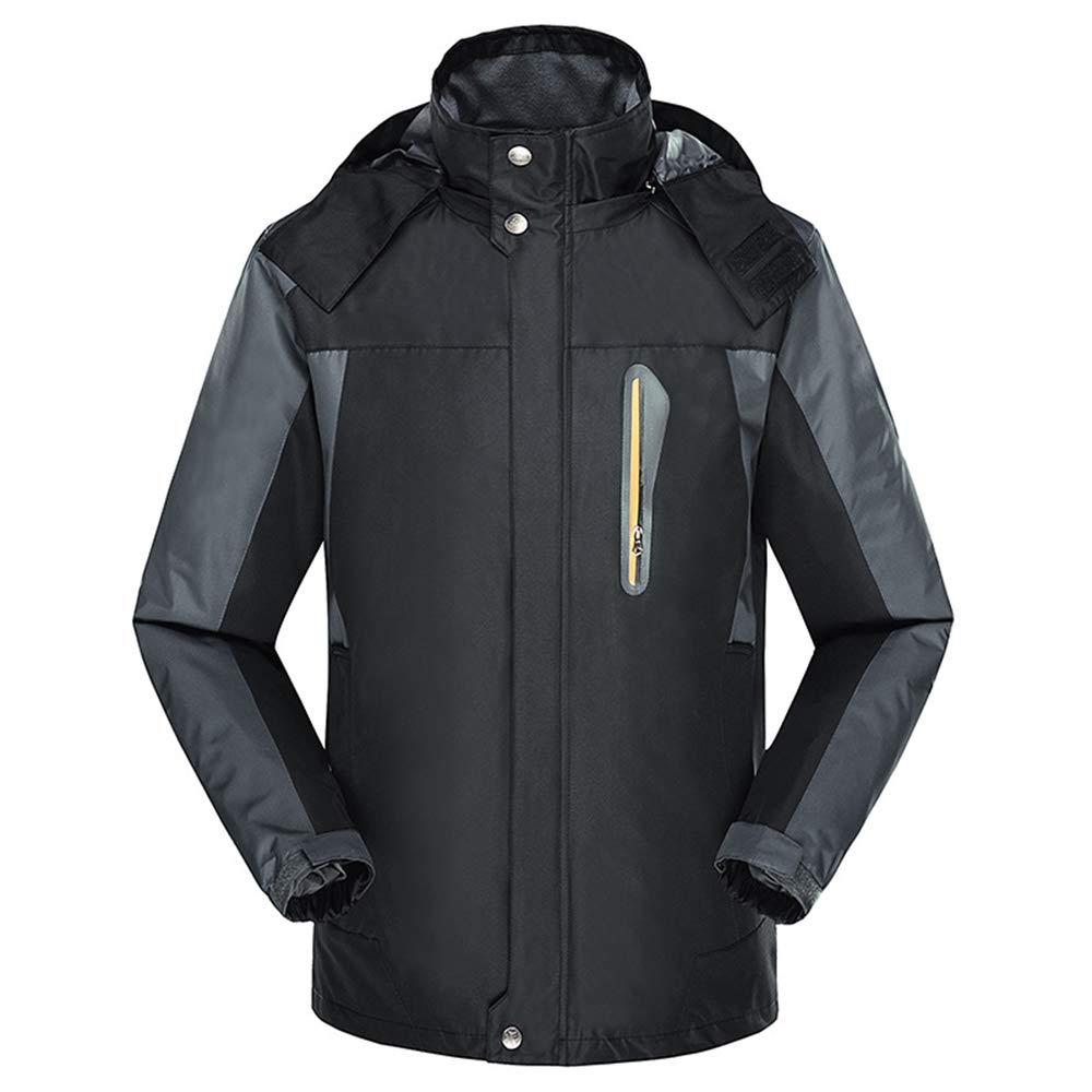 Alte Grün Männer Umfassende Wasserdichte Bergsteiger Anzug, Atmungsaktive Und Tragbare Outdoor-Große Bergsteiger Kleidung, Komfortabel Und Warm