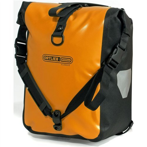 Ortlieb Front Roller Classic Orange bicycle bike front pannier bag QL2.1 by Ortlieb