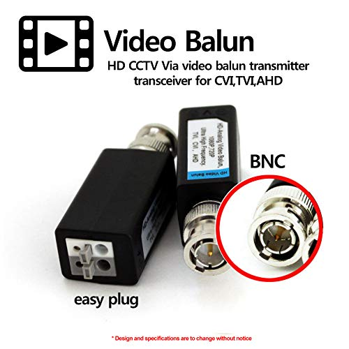 HDVD 32 Pairs Mini CCTV BNC Video Balun Transceiver Cable Push Button Terminal (32 Pairs) by HDVD (Image #3)