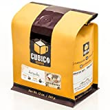 Antipodes - Whole Bean Coffee - Freshly Roasted Coffee - Cubico Coffee - 12 Ounce (Blend of Colombian and Indonesian Coffees)