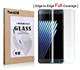 TopAce Premium Quality Tempered Glass 0.3mm [3D Curve Fit] Full Cover Screen Protector for Samsung Galaxy Note 7 (Clear)