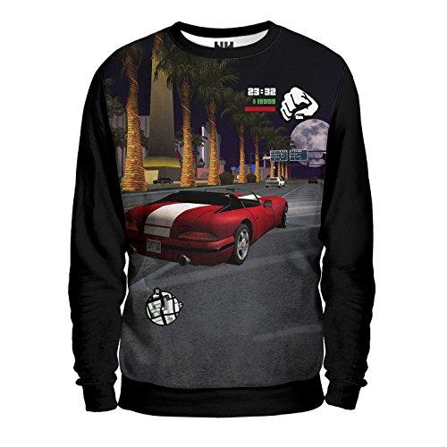 Noorhero - Felpa Uomo - GTA Viper - GTA Grand Theft Auto Viper Supercar