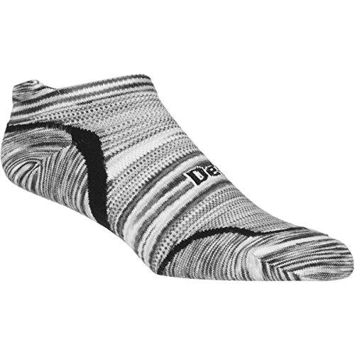 Defeet Devo Tabby Urban Space Dye Socks, Black, Medium