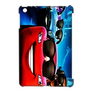 3D Print Animated Film&Cars 2 World Grand Prix Case Cover for Retina iPad Mini(iPad Mini 2)- Personalized Cell Phone Protective Hard case Shell