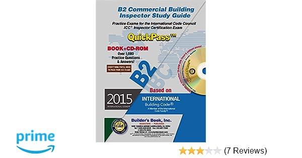 B2 commercial building inspector quickpass study guide based on 2015 b2 commercial building inspector quickpass study guide based on 2015 ibc builders book inc 9781622701124 amazon books fandeluxe Gallery