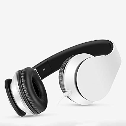 XAJGW Auriculares Bluetooth, Auriculares estéreo inalámbricos Plegables Bluetooth Sobre Oreja con micrófono y Control de