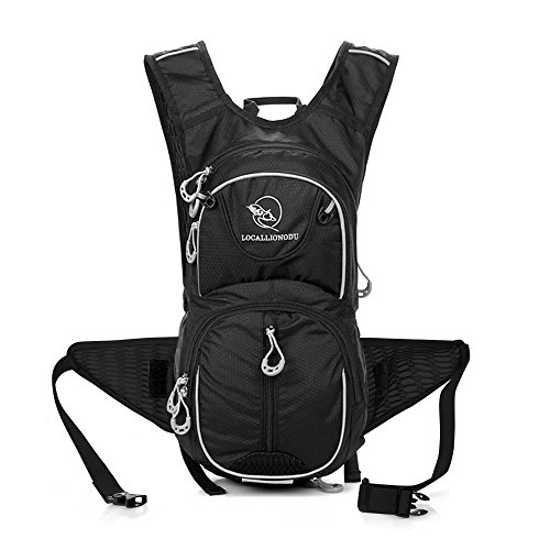 KUKOME Waterproof Outdoor Sports Backpack Shoulder Belt Bag for Biking Cycling Traveling Camping Hiking outdoor travel Hydration Pack
