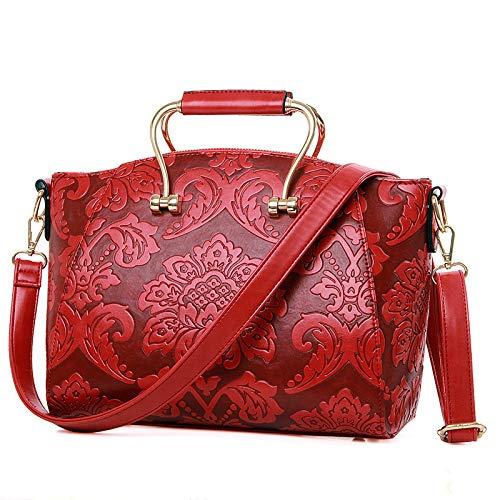 à Chinois Mariée Style Sacs Mobile Main Bag De épaule Classique Red Messenger Sac fCqdCwz