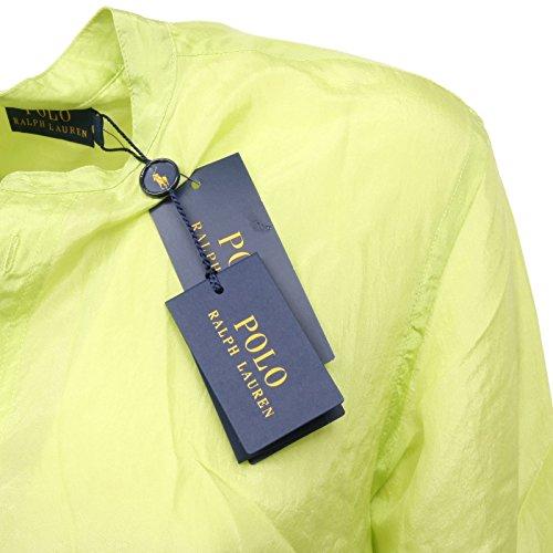 Donna Lime Seta Lauren Shirt Woman Ralph C5396 Camicia 5xPqyR4xX