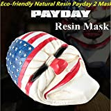 2489 NEWFactory sale Party Resin Game Payday 2 Dallas Masks Costume Prop Dress Heist Joker Cosplay halloween party terror Pro