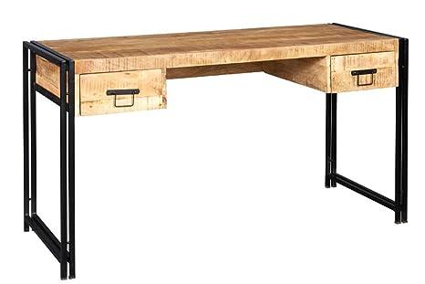 Asia dragon cosmo bureau bois et métal meubles de style