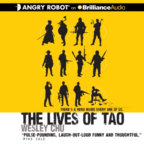 The Lives of Tao by Angry Robot on Brilliance Audio