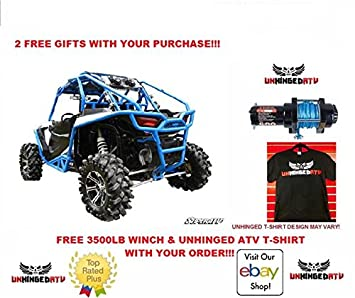 Polaris RZR xp 1000 Turbo Kit incluye con un libre gancho y un libre Unhinged camiseta
