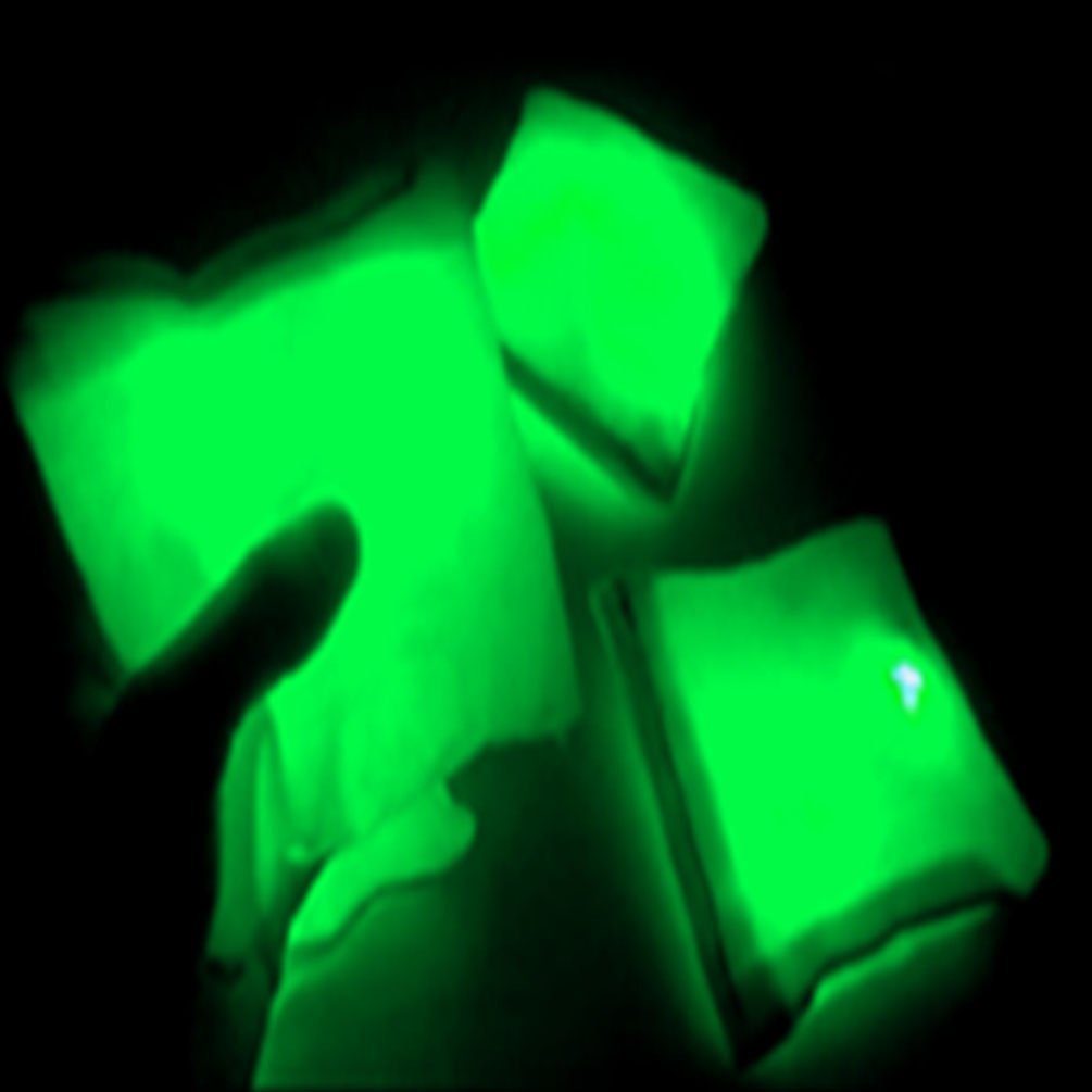 GlowCity Light Up Bean Bags by (Green) by GlowCity