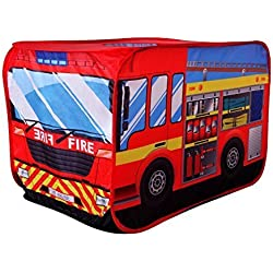 POCO DIVO Fire Engine Truck Pop-up Play Tent Kids Pretend Vehicle