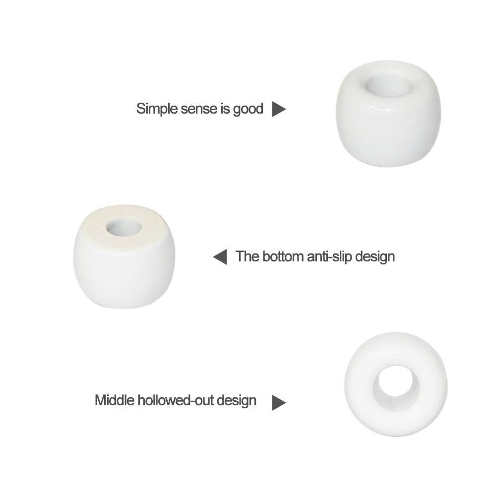 Minisoporte de cerámica HanDingSMI para cepillo de dientes, bolígrafos o vajilla: Amazon.es: Hogar