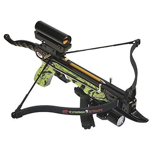 PSE Zombie Defense Pistol Crossbow (Fiberglass Rifle Stock)