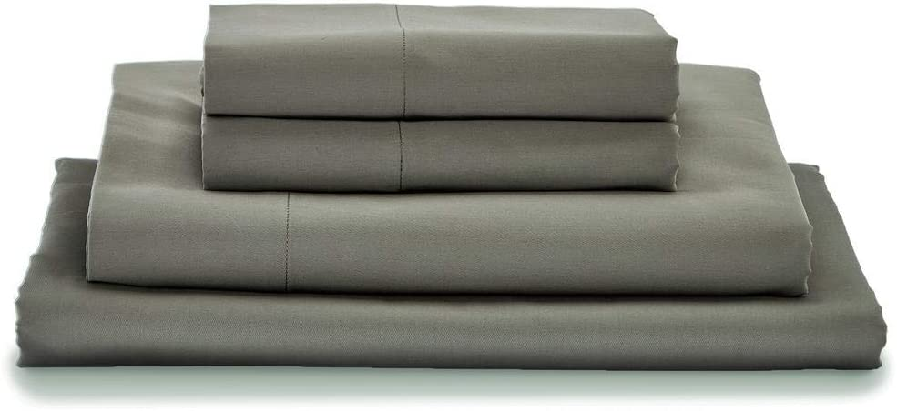 MyPillow Giza Dreams Bed Sheets (Twin, Dark Gray)