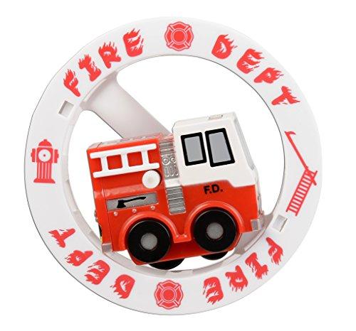 (Aeromax Fire Engine Wheely Fun Roller )
