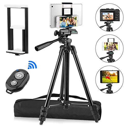 PEYOU Compatible for iPad iPhone Tripod
