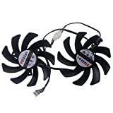 FDC10H12S9-C 85mm DC12V 0.35A 4Pin Replacement Graphics Video Card PC Cooling Dual Fan