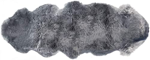 Natural Luxury Soft Premium Quality Durable Thick Lush New Zealand Sheepskin Wool Fur Area Rug