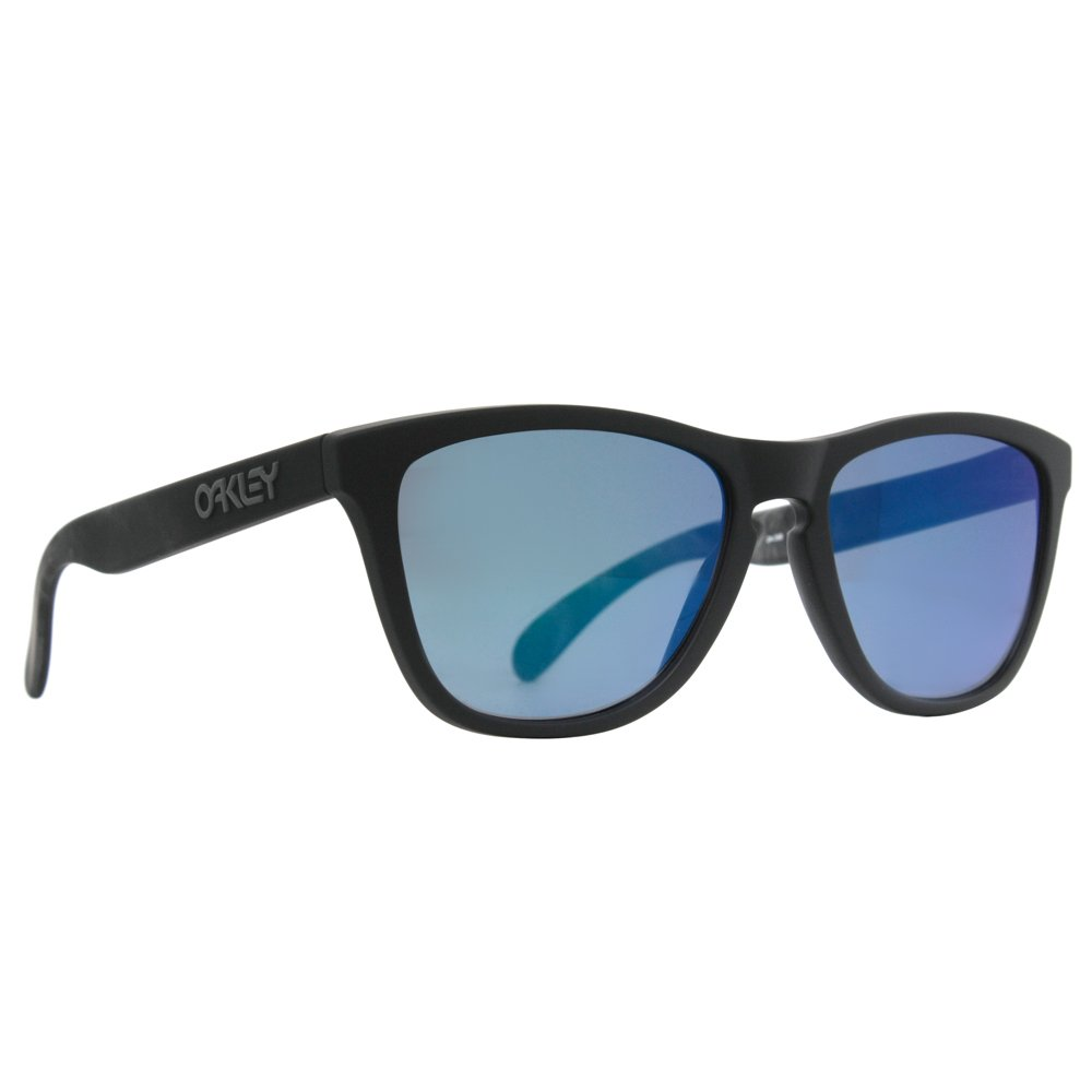 0f29d3beceb Amazon.com  Oakley Frogskins Special Editions Sunglasses - Skulls Blue  Iridium  Clothing