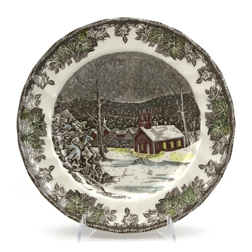 The Friendly Village by Johnson Brothers, China Dinner Plate