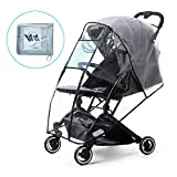 Rain Cover for Stroller Weather Shield Windproof, Waterproof, Dust Shield, Protect from Rain, Snow, Baby Travel Weather Shield by Prettop