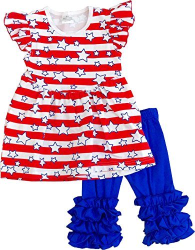 Angeline Girls July 4th Independence Day Star