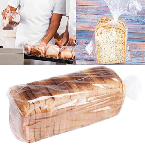 """Value Pack - Bread Loaf Plastic Bags 8"""" x 4"""" x 20"""", 700-count"""