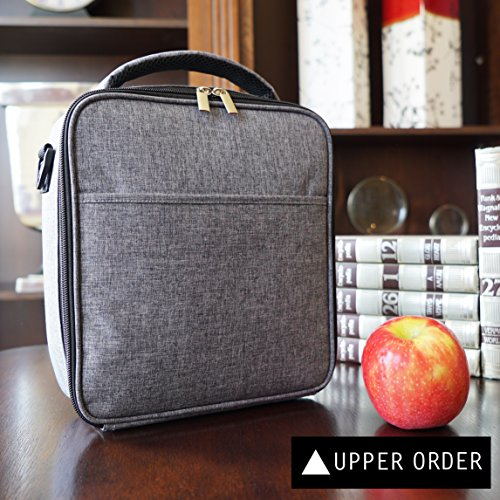 Durable Insulated Lunch Box Tote Reusable Cooler Bag Ebay