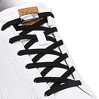 Aiboxin Upgraded Version No Tie Elastic Shoelaces, With Magnetic Shoe Laces Lock - One Size Fits All Kids & Adult