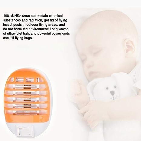 Repelente de Mosquitos eléctrico, Repelente de Mosquitos, Anti-Mosquitos, lámpara UV Repelente