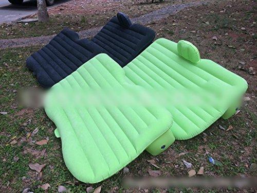 FidgetGear Car Back Seat Selfdrive Travel Air Mattress Sleep Outdoor Airbed Inflatable BedLightGreen from FidgetGear