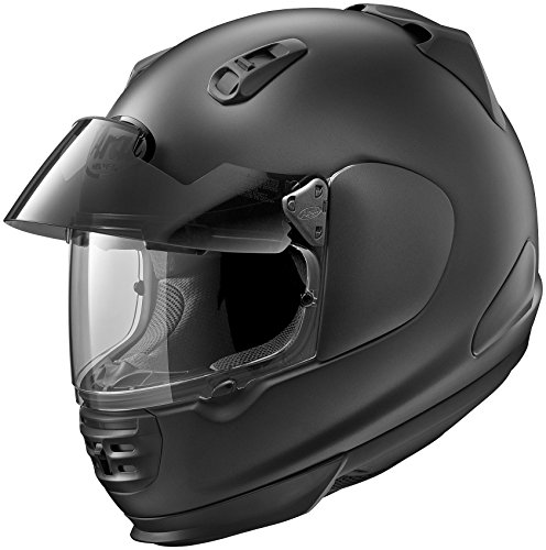 Arai Defiant Pro-Cruise Black Frost Full Face Helmet, - Domain Cheek Pads