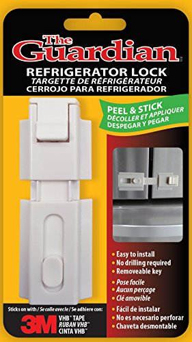 The Guardian Refrigerator Lock For Any Home Appliance