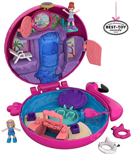 Polly Pocket Big Pocket World, Flamingo (Idea Bag Mia Jet)