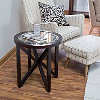 Webster Round End Table