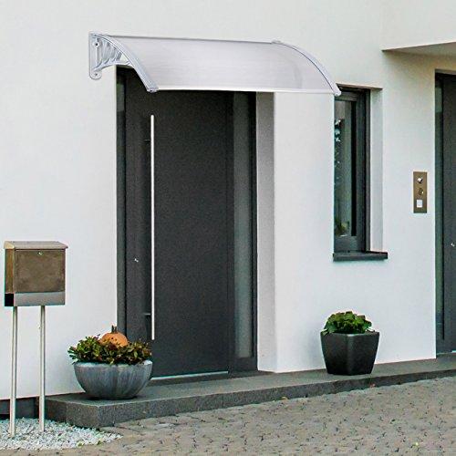 Relaxdays Auvent Avanttoît Porte Transparent En Plastique Marquise - Marquise porte d entrée