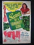 SECRET OF SORORITY GIRL-1945-ORIG POSTER-MARY WARE VG