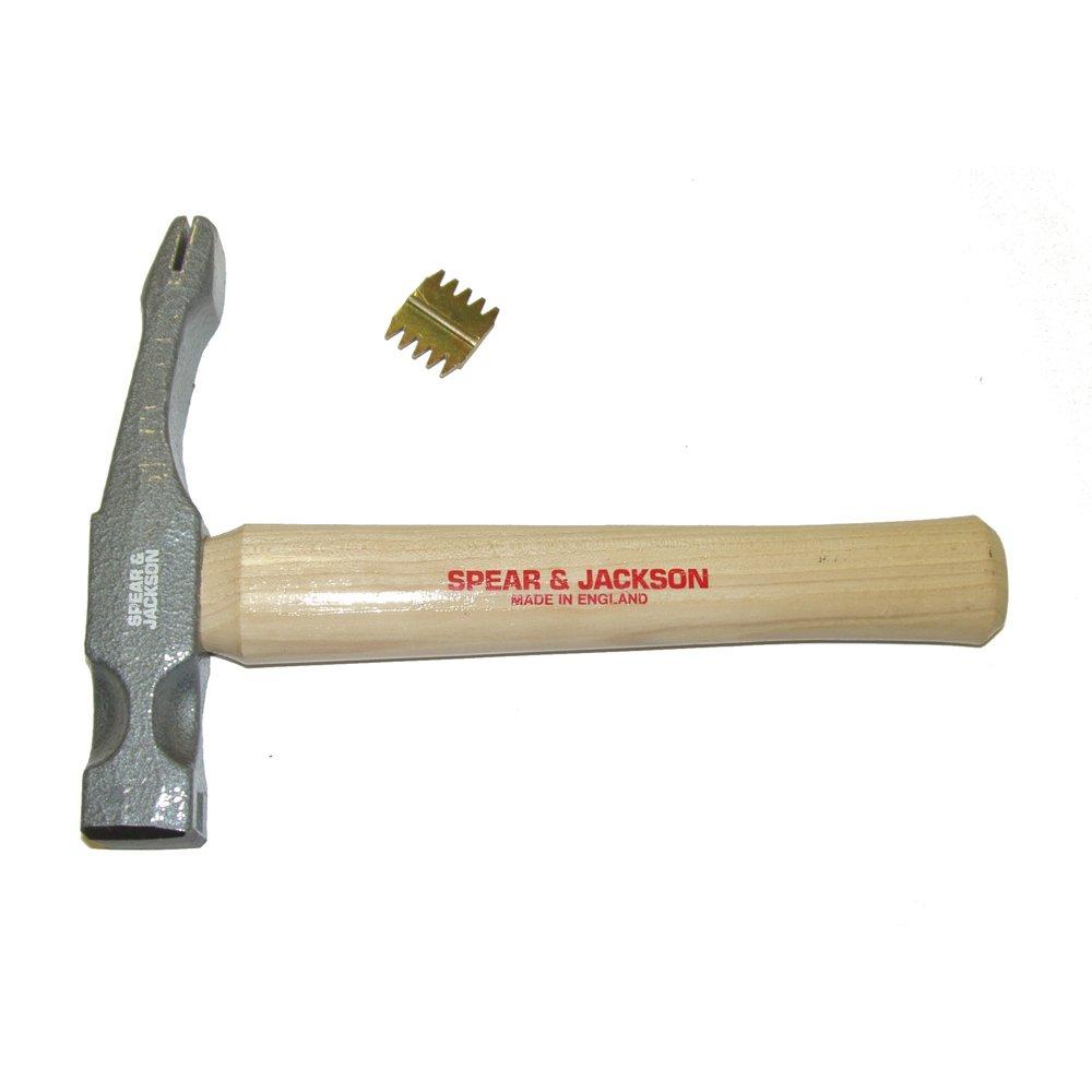 Spear & Jackson SJ-SSH28 S.E.Scutch Hickory Hammer, Blue, 28 oz.