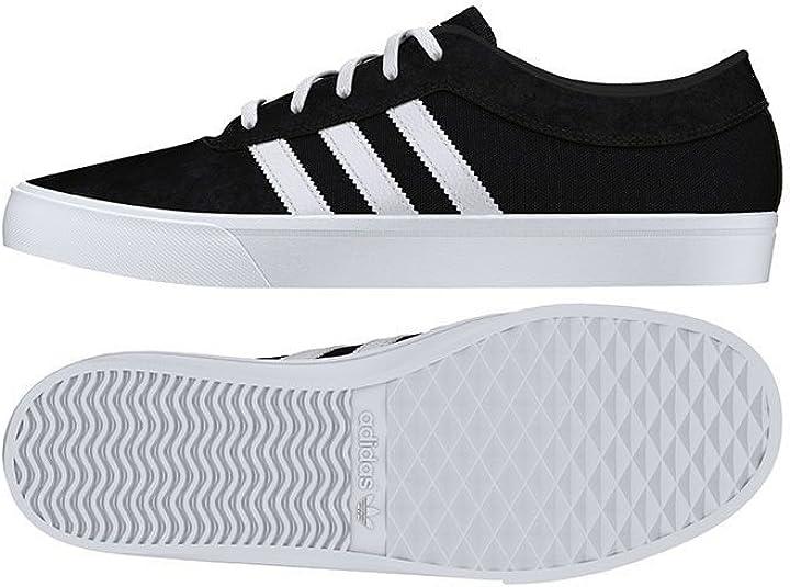 energía Retorcido variable  Adidas Men Sellwood F37855 - Zapatillas deportivas para hombre, color  blanco y negro: Amazon.es: Zapatos y complementos