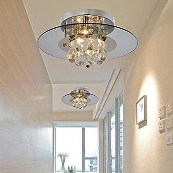 Eouby Moderne Eingelassene Kristalltropfen Leuchten mit 3 Leuchten ...