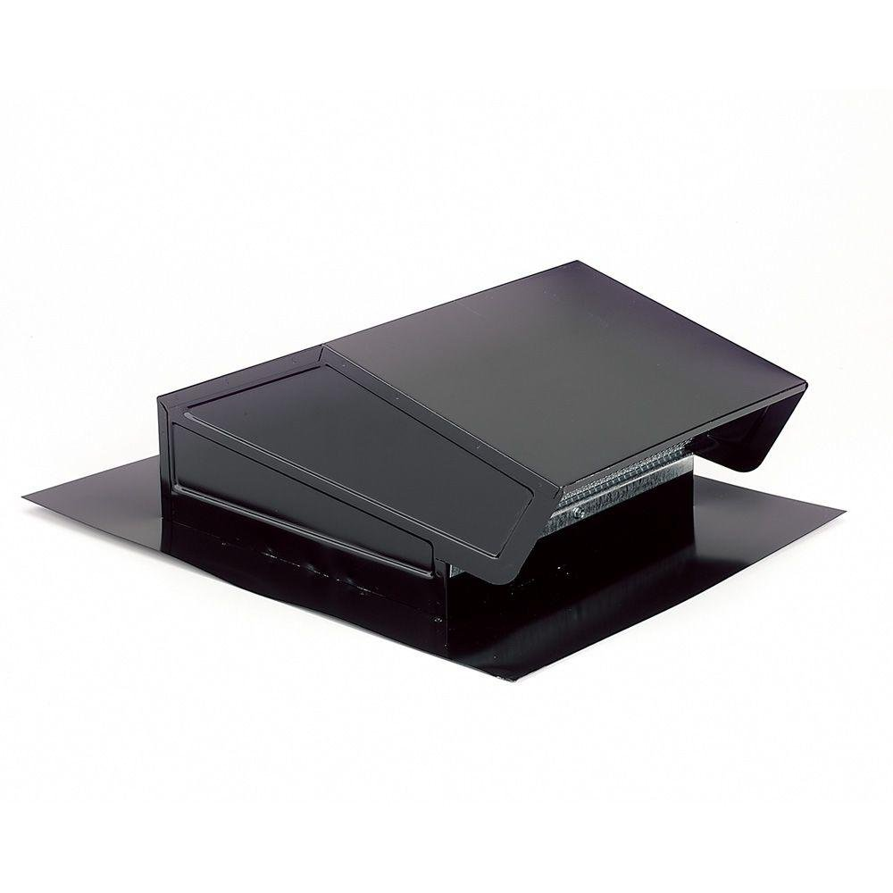 "Broan-NuTone 634M Roof Cap Black Up to 6"" Round Duct"