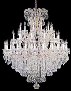 Maria theresa chandelier crystal lighting chandeliers h 50 w 37 large foyer entryway maria theresa empress crystal tm chandelier chandeliers lighting h aloadofball Image collections