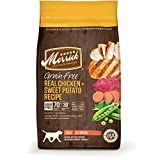 Merrick Grain Free 25-Pound Real Chicken and Sweet Potato Dog Food, 1 Bag